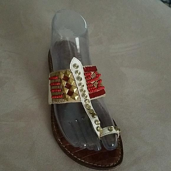 9959c0c9d79a Sam Edelman Gideon beaded sandals. M 5ad3cc8e1dffda4c9f5d0ab0